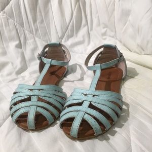 Call It Spring Sandals in Sky Blue
